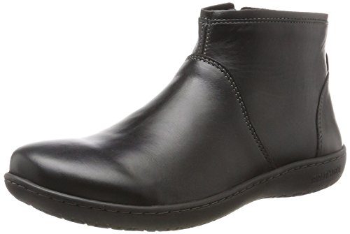 BIRKENSTOCK Shoes Damen Bennington Chelsea Boots, Schwarz (Black), 36 EU