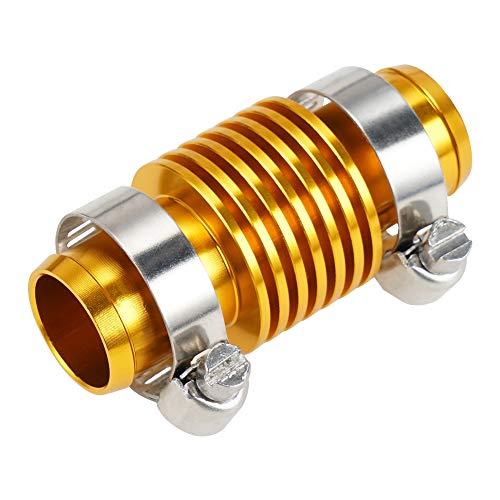 CNC de la Motocicleta en línea Super Water Cooler/Fit para HON.DA 125-650 CC XR CR CRF 150 200 230 250 300 350 400 450 500 550 600 (Color : Gold)