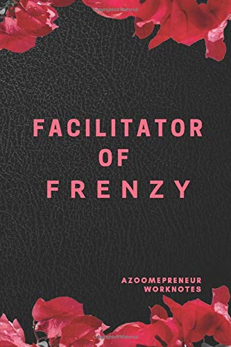 FACILITATOR OF FRENZY: OFFICE SUPPLIES LINED BLANK JOURNALS WITH A FUN TWIST GIFT AND REWARD IDEAS