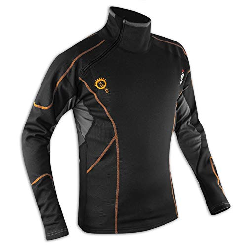 A-pro Men 's Invierno Thermal Textile Strap Vest Underwear Clothes Wind Proof S