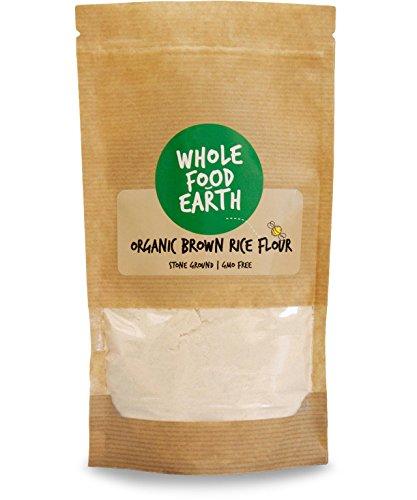 Wholefood Earth Organic Brown Rice Flour 500 g