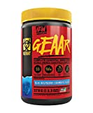 Mutant GEAAR - 9.4g of EAA Powder + Arginine, 7g BCAAs, 4g Leucine, Electrolytes, Coconut Water, No Artificial Colours or Flavours, Delicious Taste - 30 servings - Blue RaspBerry - 378g FID65360