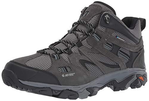 Hi-Tec Mens Ravus Vent Mid Waterproof Hiking Boot, Adult, Charcoal/Cool Grey/Dark Slate, 9