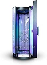 SUNLESS V58 Unique Vertical Tanning Bed with RGB LED Decor