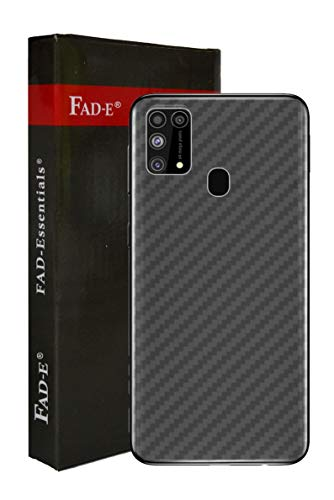 FAD-E Back Screen Guard Protector Soft Film for Samsung Galaxy M31 / F41 (Transparent Carbon Fiber, Pack of 1)