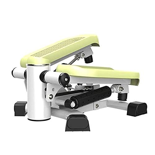 HKJZ SFLRW Mini Stepper Ajustable Pantalones Interior Stepping Twist Stair Stepper Aerobic Trainer con Bandas de Resistencia Ajustable y Pantalla LCD para hogar, Oficina y Gimnasio