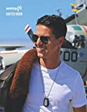 Sketch Book: Tom Cruise Sketchbook 130 pages, Sketching, Drawing and Creative Doodling Notebook to Draw, Blank Diary and Journal 8.5 x 11 in large (21.59 x 27.94 cm)