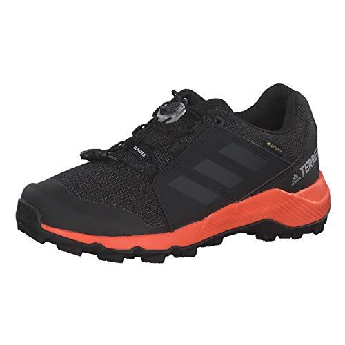 adidas Unisex-Kinder Terrex Gtx K Fitnessschuhe, Mehrfarbig (Negbás/Carbon/Naranja 000), 36 EU