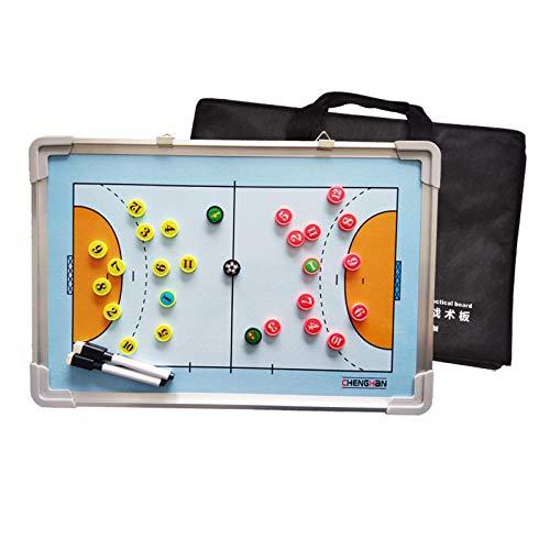 LSG Doppelseitiger Handball Magnetic Tactical Coach Brettspieler Game Training Board Rewritable Command (30 * 45CM)