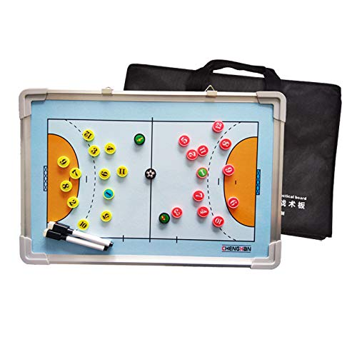 LSG Doppelseitiger Handball Magnetic Tactical Coach Brettspieler Game Training Board Rewritable Command (30 * 45CM)