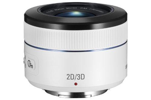 Samsung S45ADW, Obiettivo Fisso 45mm 2D e 3D, F/1.8, i-Function, Bianco