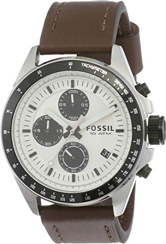 Fossil Chronograph White Dial Men's Watch - CH2882