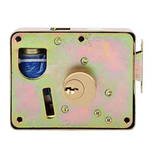 Cerradura eléctrica doméstica de seguridad Cerradura del armario flexible simple para armarios del supermercado para el cajón del armario Desbloqueo a la izquierda