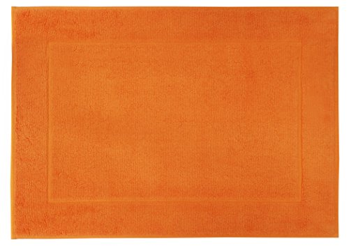 framsohn Badteppich, Baumwolle, Orange, 50 x 70