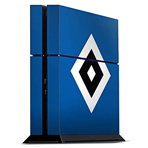 DeinDesign Skin kompatibel mit Sony Playstation 4 PS4 Folie Sticker Hamburger SV Logo HSV