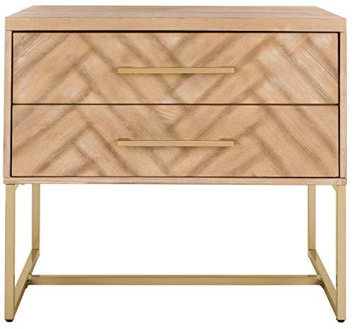 Safavieh Felton Schrank, Holz, Rustic Oak, 50 x 74 x 68.58 cm
