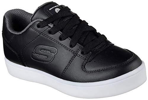 Skechers Jungen Energy Lights Elate Sneaker, Schwarz (Black), 32 EU