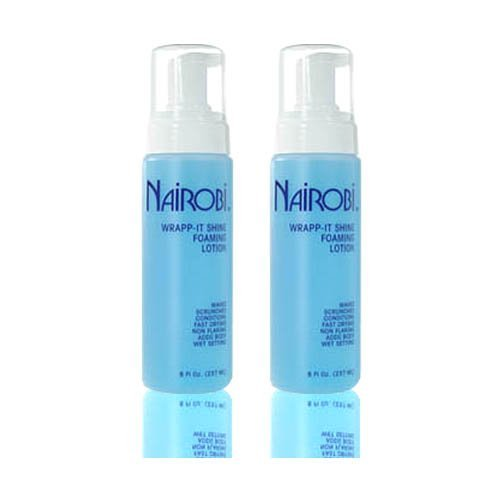 Nairobi Wrapp-It Shine Foaming Lotion 8 fl. oz. (237 ml)'Pack of 2'
