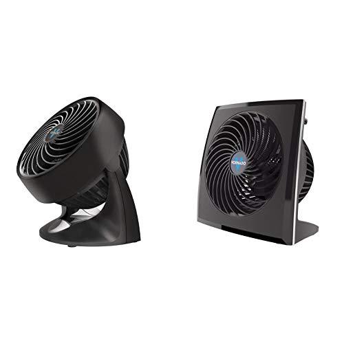 Vornado 133 Compact Air Circulator Fan & 573 Small Flat Panel Air Circulator Fan