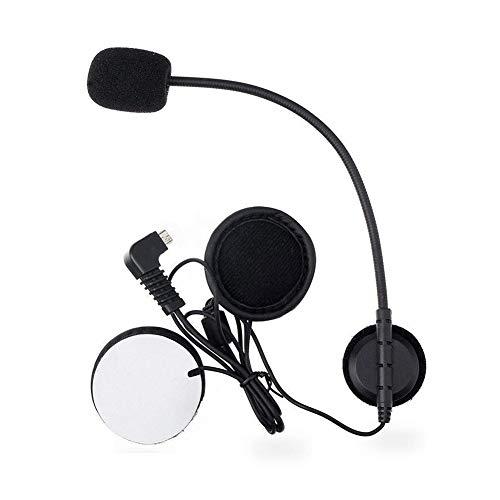 Micrófono Soft Cable Auricular Traje para BT-S2 Motocicleta Casco Intercom Headset(Micrófono)
