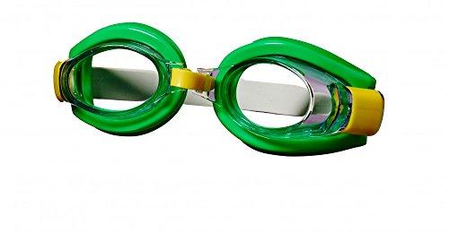 Best Sporting Schwimmbrille Tuna, gelb, grün oder rot, Farbe:grün