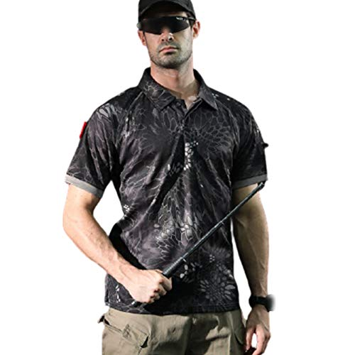 FACAI Camiseta de Manga Corta, Camiseta Deportiva Ligera y Transpirable, Ropa de Gimnasio para Hombres,Onecolor-M