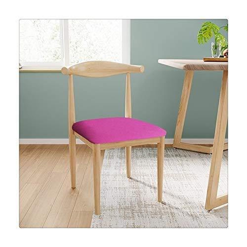 ASVNDD 1/2 / 5pc Stuhl-Sitz-Schutz-Abdeckungen Printed Küche Stretch Dining Chair Abdeckung Removable Elastic Sitz Fall Wohnzimmer Slipcover (Color : Blue, Specification : 1)