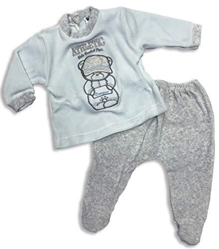 Character World Abbigliamento-Pigiama Ensemble De Pyjama, Turquoise (Celeste), 74 (Taille Fabricant: Medium) Bébé garçon