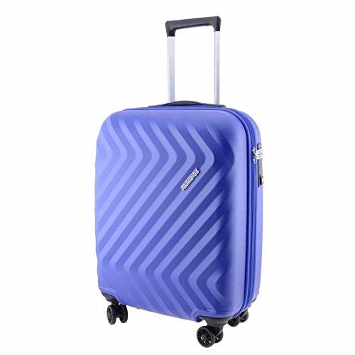 Trolley American Tourister Zigg Zagg 4 Ruote colore Orion Blue Misura 55 cm