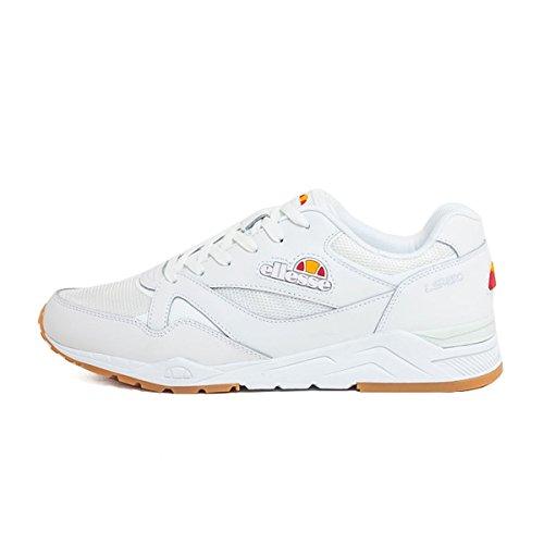 Ellesse - Zapatillas de Skateboarding para Hombre White Gum Size: 46 EU