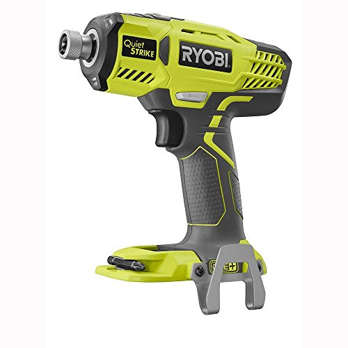 Ryobi P290 One+ 18V 1/4' Cordless Quiet Strike 3,200 RPM Impact Driver with Quick Change Chuck and Mag Tray (Batteries Not Included, Power Tool Only)