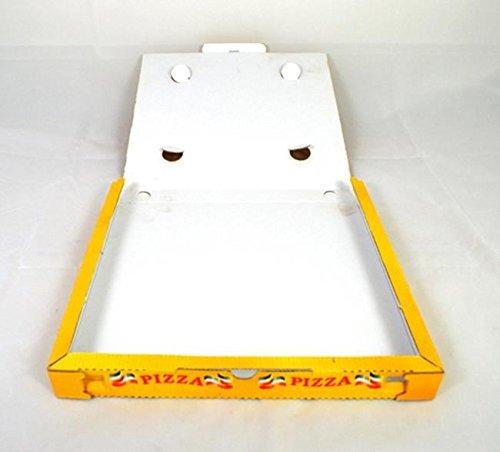 CONTENITORI CARTONE PIZZA 33X33 100PZ SCATOLE CARTONI PIZZA PIZZERIA D'ASPORTO