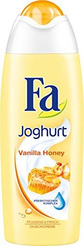 Fa Joghurt Vanilla Honey Duschcreme, 6er Pack (6 x 250 ml)