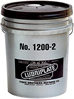 Lubriplate, No. 1200-2, L0102-035, Heavy-duty, Lithium Type Grease, 35 Lb Pail
