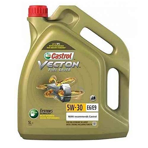 Castrol Motoröl Vecton Fuel Saver 5W-30 E6/E9 Nutzfahrzeuge 159Cac 5L