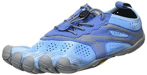 Vibram Women's V-Run Running Shoe Blue/Blue 10-10.5