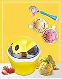 YYAI-HHJU Máquina Automática Eléctrica para Hacer Helados De Frutas, Herramientas De Cocina para Niños, Máquina De Helados DIY, Uso En El Hogar