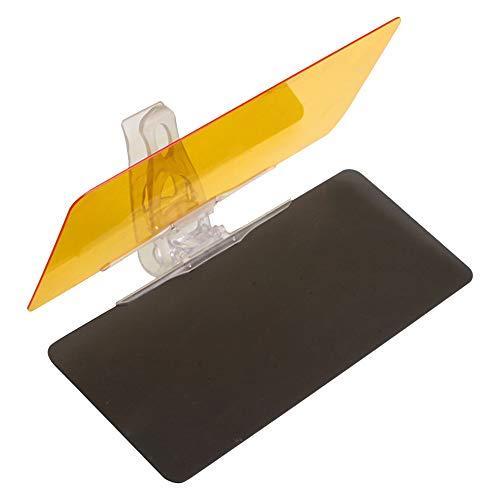 Visera Parasol Coche 2 Pcs Car- Car Styling parasol Alta Definición anti- deslumbramiento de bloquear la visera Uv Fold, tapa de gafas de visión nocturna de conducción Día Espejo Visera Del Coche