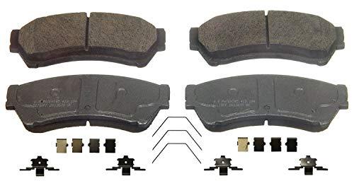 Wagner ThermoQuiet QC1164 Ceramic Disc Brake Pad Set