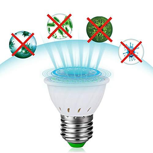 FORNORM UV-Desinfektionslampe, E27 / GU10 Keimtötende Sterilisationslampe, 72leds UV-Glühbirne