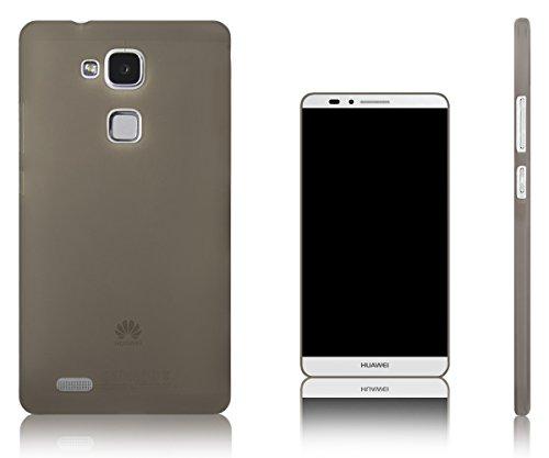Xcessor Vapour Flexibel TPU Gel Schutzhülle Für Huawei Ascend Mate 7 Phablet. Grau/Halb-transparent
