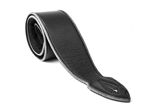 LeatherGraft Dark Jet Black Genuine Leather Extra Soft