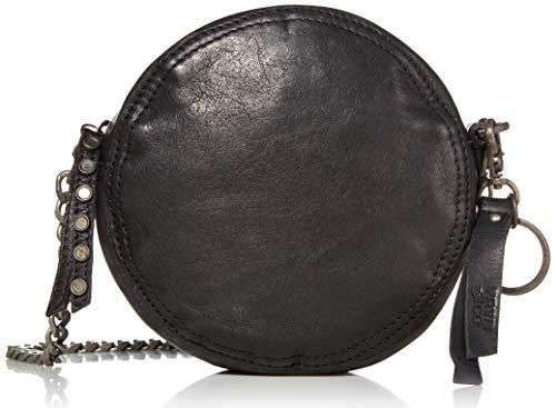 Frye and Co Handbags Riley Leather Circle Crossbody Bag, Black