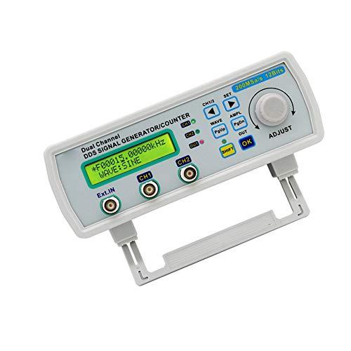 Función del generador de señal DDS forma de onda arbitraria del contador de frecuencia Generador MHS-5200A 25MHz Control Digital de dos canales