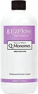 EZ FLOW Q Monomer False Nails, 16 Fluid Ounce
