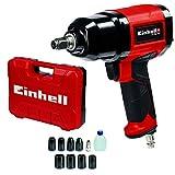 Einhell 4138950 TC-PW 340 Clé à chocs pneumatique, Noir, Rouge