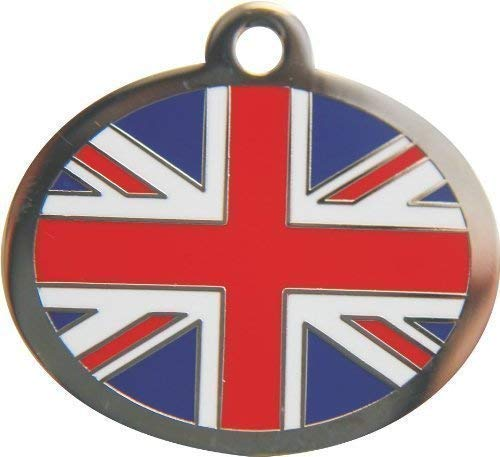 Styled Union Jack Tag Small