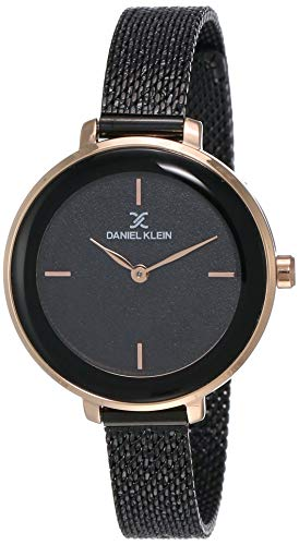 Daniel Klein Analog Black Dial Women's Watch-DK11960-4