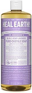 Dr. Bronner's - Pure-Castile Liquid Soap (Lavender, 32 ounce)