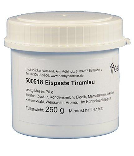 Hobbybäcker Eispaste Tiramisu ► Zur Verfeinerung von selbstgemachtem Eis, für Tiramisu-Eis wie beim Italiener, 250g